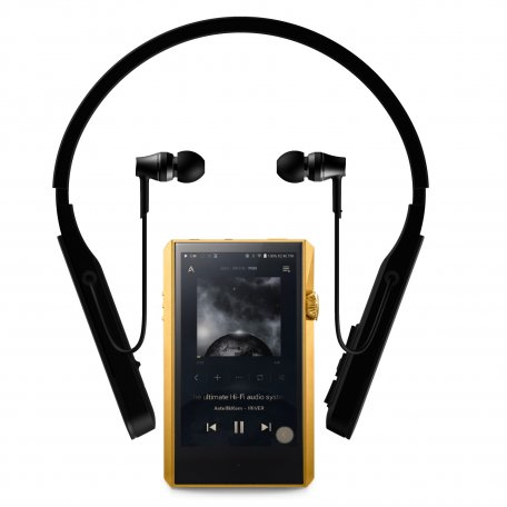 Astell&Kern SP1000M Gold + Audio Technica ATH-DSR5BT