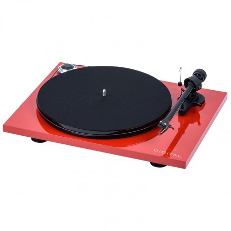 Pro-Ject ESSENTIAL III DIGITAL (OM 10) red