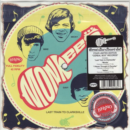 The Monkees CEREAL BOX SINGLES (Start your ear off right/Box set)
