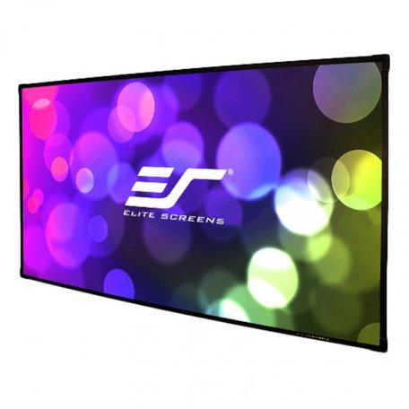 "Elite Screens Aeon Edge Free 16:9 frameless fixed frame projector screen 100"" cinewhite (AR100WH2)"