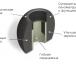 Амбушюры Comply Ts-500 Black Large (3 пары) картинка 3