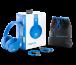 Наушники Monster Adidas Originals Over-Ear Headphones Blue (137011-00) картинка 9